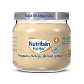 BOIÕES MAÇÃ, LARANJA, BANANA E PERA 120g da Nutribén.