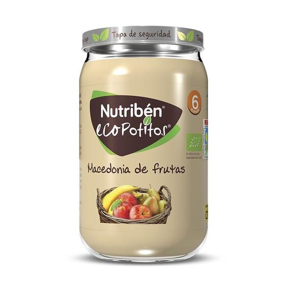 ECOPOTITOS MACEDONIA DE FRUTAS 235g de Nutribén.