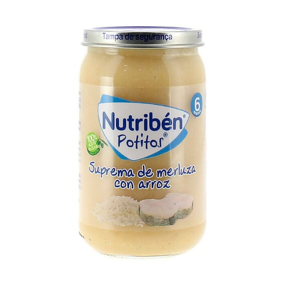 BOIÕES POSTAS DE PESCADA COM ARROZ 235g da Nutribén