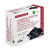 Carbón Vegetal Activado Complex 1500mg 60 Caps NATURE ESSENTIAL