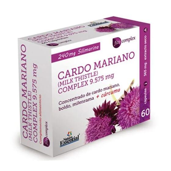 Chardon-Marie (Complex) 9725 mg (Extrait Sec) 60 VCaps de Nature Essential