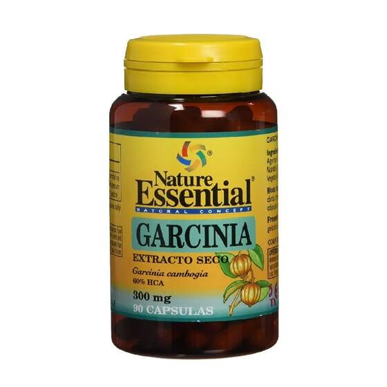 Garcinia Extrait Sec 300 mg 90 Caps de Nature Essential