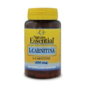 L-Carnitina 450mg 100 Caps Nature Essential