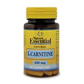 L-Carnitina 450mg 50 Caps Nature Essential