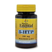 5-HTP Magnésio Vitamina B6 60 Caps Nature Essential