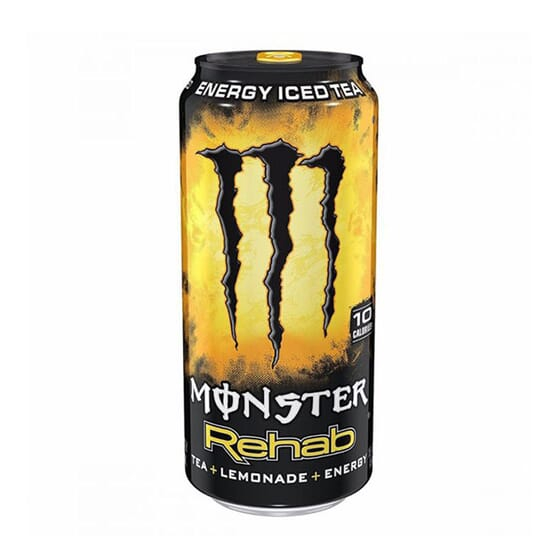 MONSTER REHAB LEMONADE 500ml de Monster Energy