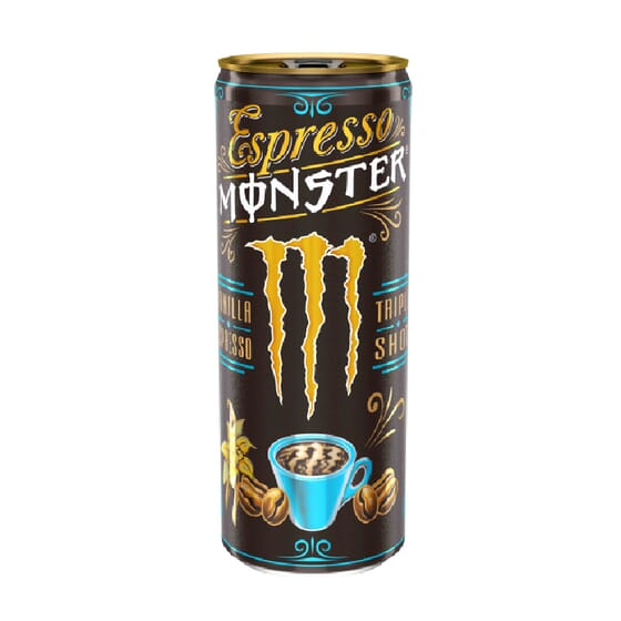 MONSTER ESPRESSO VANILLA 250ml de Monster Energy