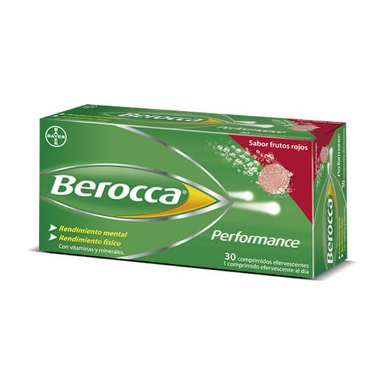 Berocca'N Go Fruits Rouges maximise la performance de votre cerveau.