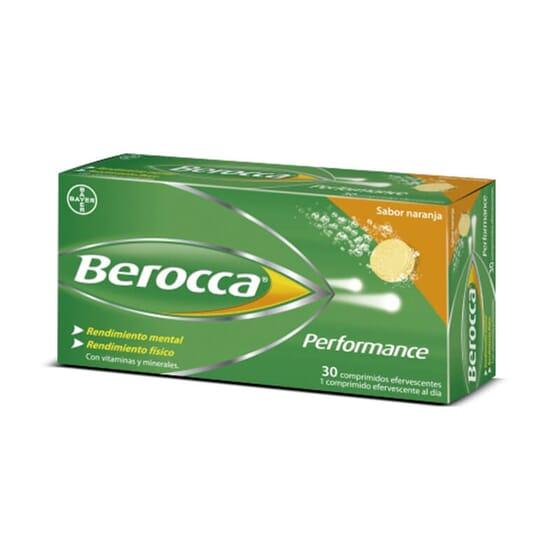 Berocca Perfomance Orange est un complément pour les performances cognitives.