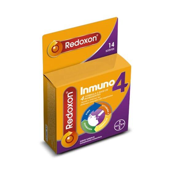 Redoxon Immuno 4 est élaboré à base de vitamine C, zinc, échinacée et propolis.
