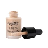 SUBLIME DROP FOUNDATION SPF10 #01 15 ml de Purobio