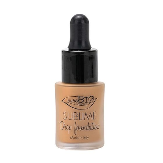 SUBLIME DROP FOUNDATION SPF10 #04 15 ml da Purobio
