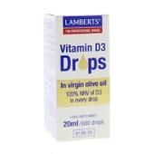 VITAMINA D3 EN GOTAS 20 ml de Lamberts