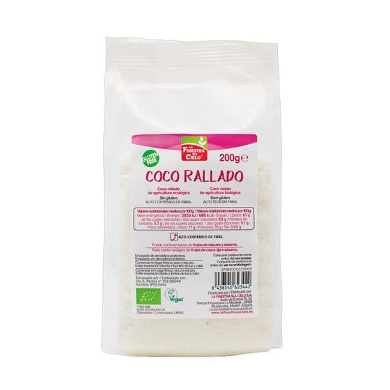 Coco Rallado Bio 200g de La Finestra Sul Cielo