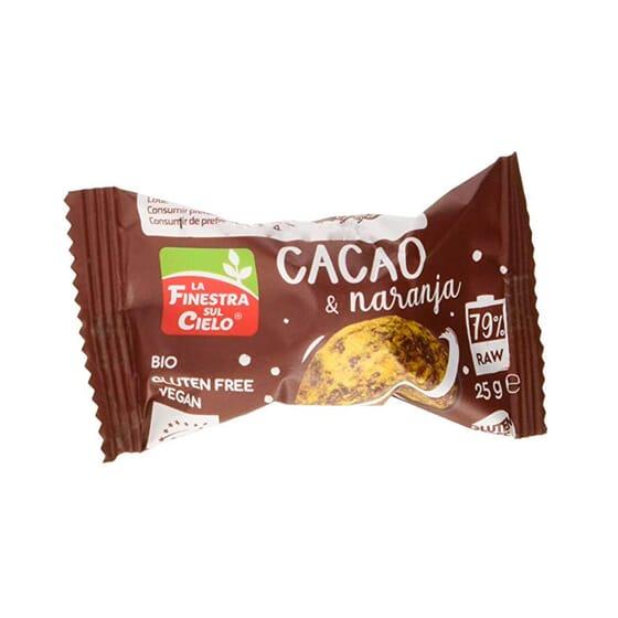 Energy Ball Cacao & Naranja Bio 25g de La Finestra Sul Cielo