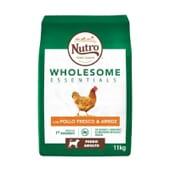 Wholesome Essentials Cão Adulto Frango e Arroz 11 Kg da Nutro