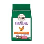 Grain Free Cão Adulto Raças Pequenas Frango 7 Kg da Nutro