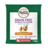 Grain Free Gato Esterilizado Pollo 1.4 Kg de Nutro
