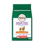 Grain Free Gato Esterilizado Pollo 4 Kg de Nutro