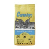 Sensitive Ração Cão Salmão e Arroz 15 kg da Carnívoro