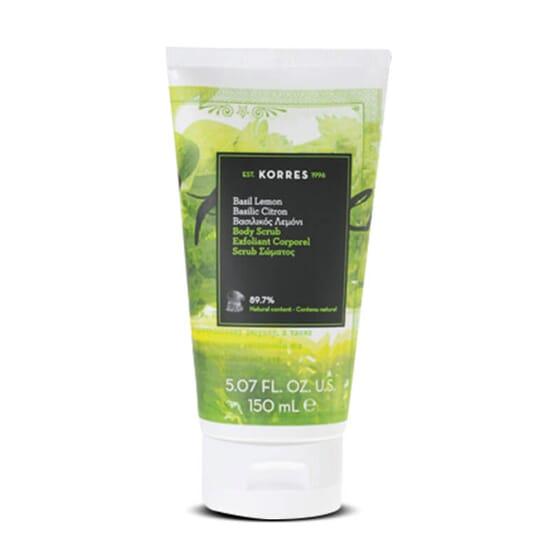 L'Exfoliant Corps Basilic Citron exfolie et adoucit la peau.