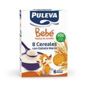 Puleva Bebe 8 Cereais Com Bolachas Maria Fos 500g da Puleva
