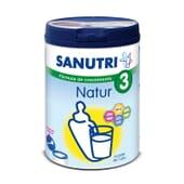 Sanutri Natur 3 es una leche para bebés de más de 12 meses.