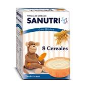 SANUTRI 8 CÉRÉALES - Bouillie pour les bébés de 6 mois