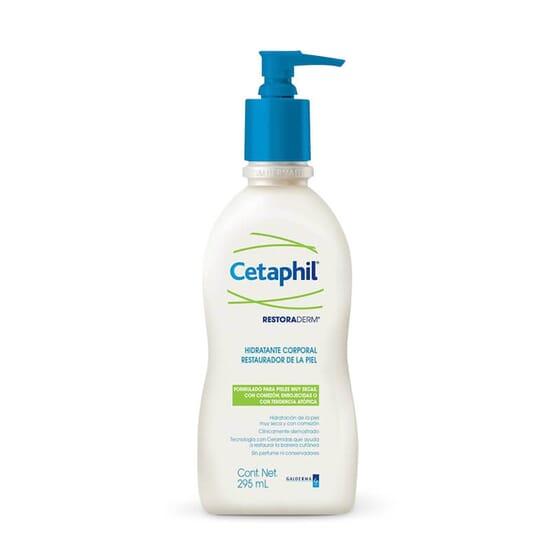 Restoraderm Émulsion Hydratante de Cetaphil restaure les peaux sèches et atopiques.