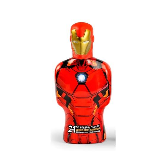 Avengers Iron Man Gel & Champô 2Em1  350 ml de Cartoon