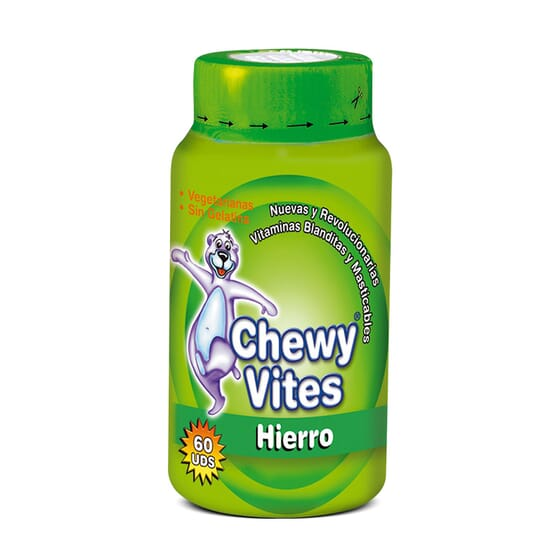 CHEWY VITES HIERRO 60 Uds - CHEWY VITES