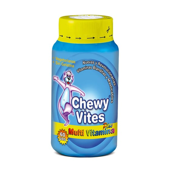 CHEWY VITES MULTI VITAMINA PLUS 60 Uds - CHEWY VITES