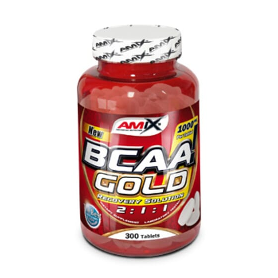 Bcaa Gold 2:1:1 300 Tabs de Amix Nutrition