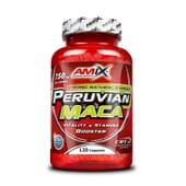 Peruvian Maca 120 Gélules - AMIX NUTRITION