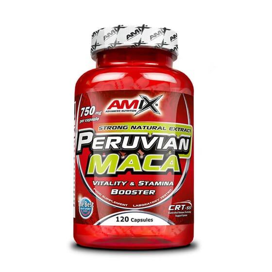 Peruvian Maca 120 Caps de Amix Nutrition