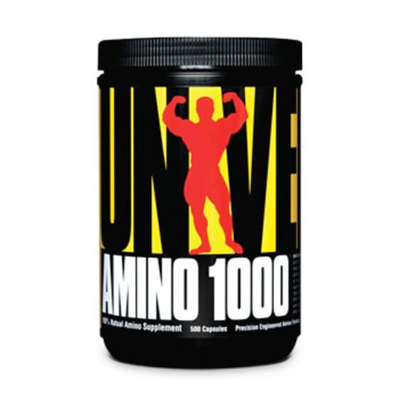 AMINO 1000 - 500 Caps - UNIVERSAL NUTRITION - AMINOACIDOS ESENCIALES