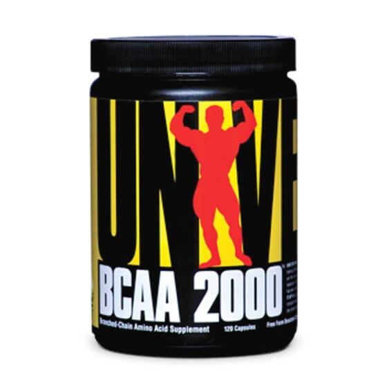 BCAA 2000 120 Caps - UNIVERSAL NUTRITION - AMINOACIDOS RAMIFICADOS