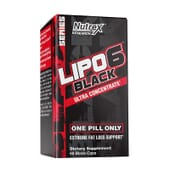 LIPO 6 BLACK ULTRA CONCENTRATE FAST DESTROYER 60 Caps de Nutrex