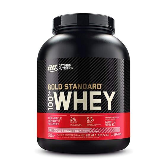 100% Whey Gold Standard 2,27kg da Optimum Nutrition