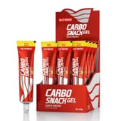 CARBO SNACK 12 x 50g de Nutrend Enduro Drive