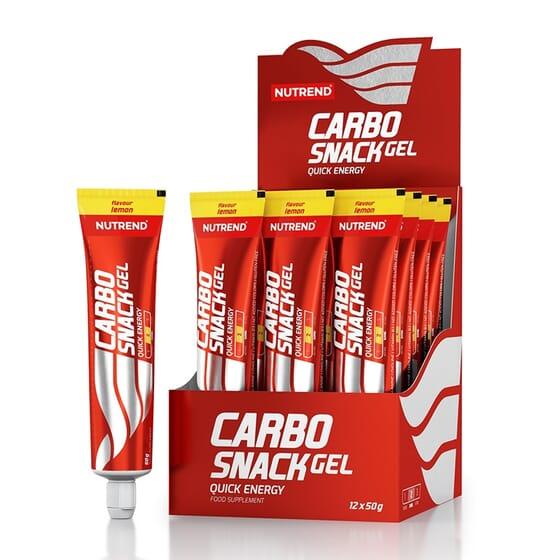 CARBO SNACK 12 x 50g de Nutrend Enduro Drive