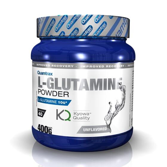 L-Glutamine Powder (Kyowa™) 400g da Quamtrax