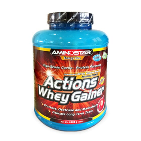 Whey Gainer Actions 4,5 Kg da Aminostar