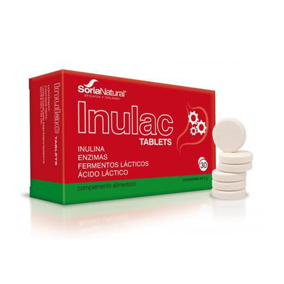 Inulac Tablets 30 Tabs da Soria Natural