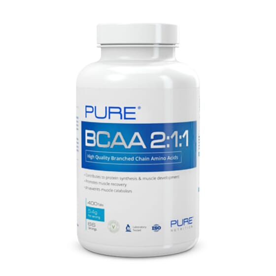 Pure Bcaa 2:1:1 - 400 Tabs da Pure Nutrition
