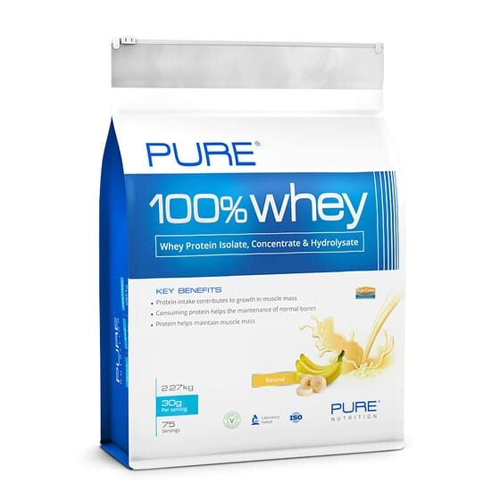 Pure 100% Whey 2270g de Pure Nutrition