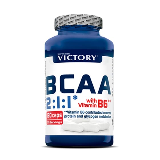 Bcaa 2:1:1 - 120 Caps da Victory