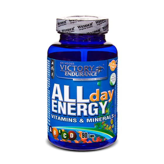 All Day Energy 90 Caps de Victory Endurance