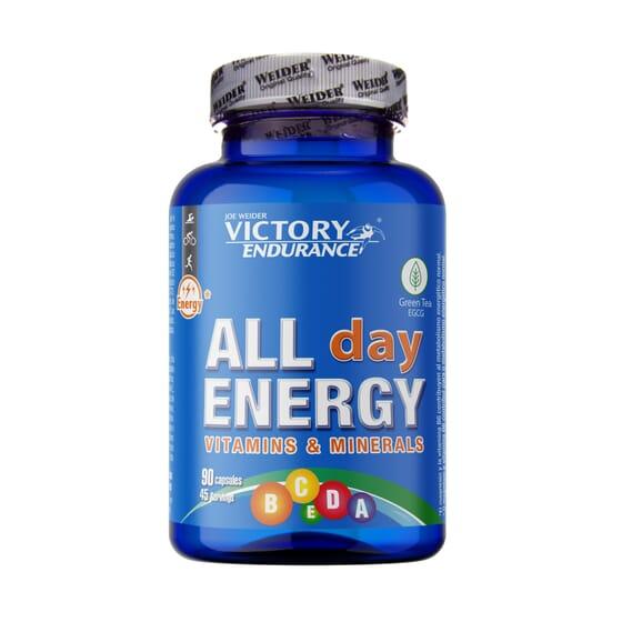 All Day Energy 90 Caps de Victory Endurance