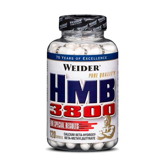 HMB 3800 120 Caps de Weider